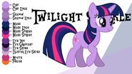 Twilight Sparkle color guide