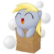 Cute Derpy in a bag