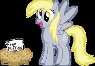 Derpy found free muffins!