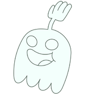Another happy high five ghost by kol98-d6ka84o
