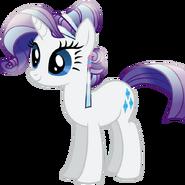 Rarity crystal pony