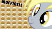 Derpy hooves muffin wallpaper by armando92-d4dun86