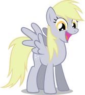 Derpy is happy