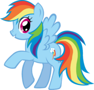 Rainbow Dash with cutie mark