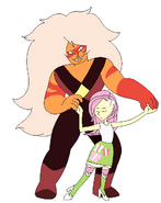 Jasper and FlutterShy Fuse