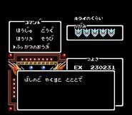 Hiryuu no Ken II - Dragon no Tsubasa (Jungle Stage - Expert Mode Game Password)