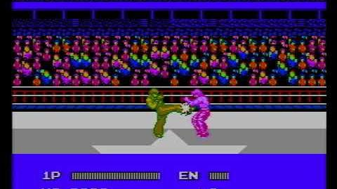 Hiryuu no Ken Special - Fighting Wars (FAMICOM Game) Kim Won-Gu Gameplay-0