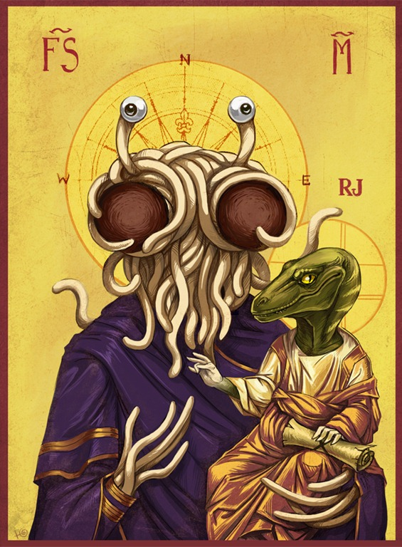 image raptor jesus jpg flying spaghetti monster wiki fandom