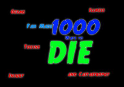 Fan Made 1000 Ways to Die Logo
