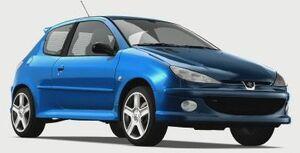 Peugeot206RC2004