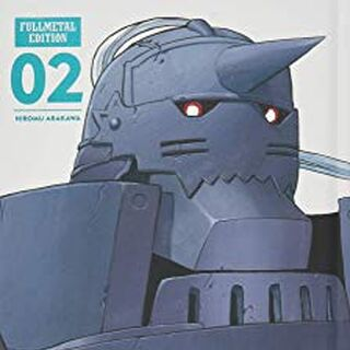 Volume 2's Front Cover, featuring Alphonse.