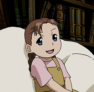 the character as seen in fullmetal alchemist brotherhood