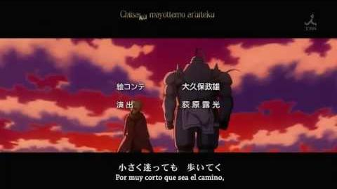 "Fullmetal Alchemist Brotherhood Ending 2 ""Let it all out"" (Subtitulado)"