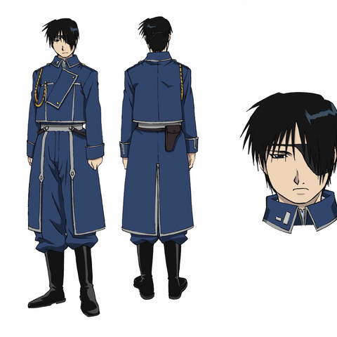 Roy Mustang at 32 years old, wearing his eyepatch from his battle with <a href=