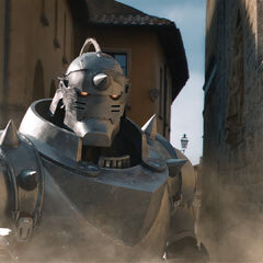 Alphonse's appearance in the Movie.