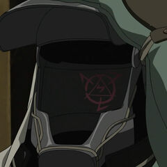 Number 48's head blood rune in the 2009 anime.