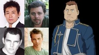 Anime Voice Comparison- Heymans Breda (Fullmetal Alchemist)