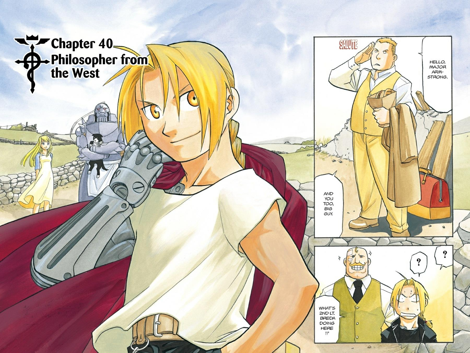 Chapter 40: Philosopher from the West | Fullmetal ...