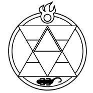 Круг для огненной алхимии
