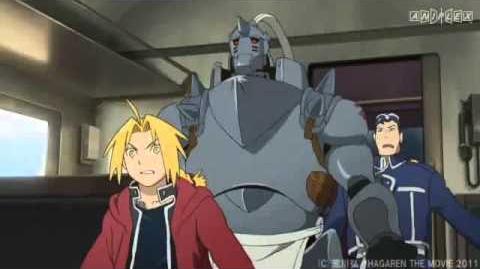 Tráiler completo de la película Fullmetal Alchemist Milos no Sei-naru Hoshi.
