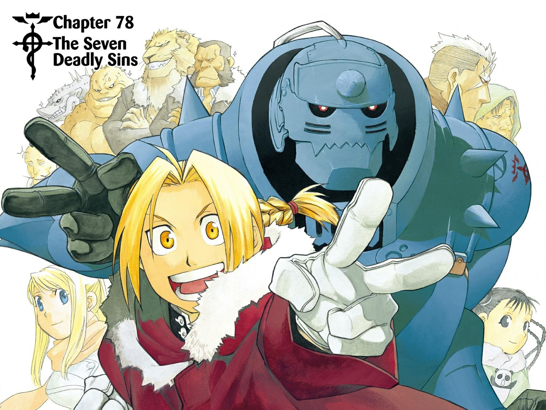 Chapter 78: The Seven Deadly Sins   Fullmetal Alchemist ...