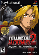 Fullmetal Alchemist 2 - Curse of the Crimson Elixir Coverart