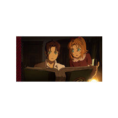 Ashleigh and Julia reading their Parents' Alchemic Research Notes at the beginning of the Film