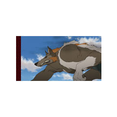 One of the Wolf Chimera from the Movie