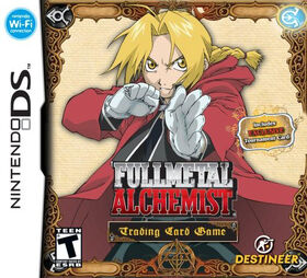 Full Metal Alchemist Trading Card Game DS