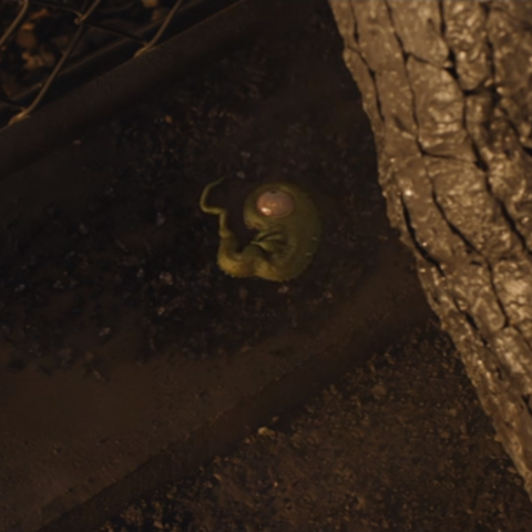Envy's powerless form from the 2017 Film.