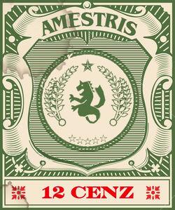 Cenz stamp