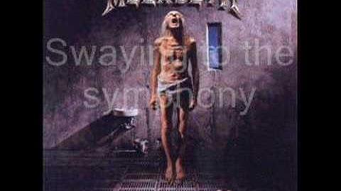 Megadeth - Symphony of Destruction - Lyrics