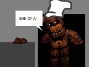 Freddy Lost His Arm