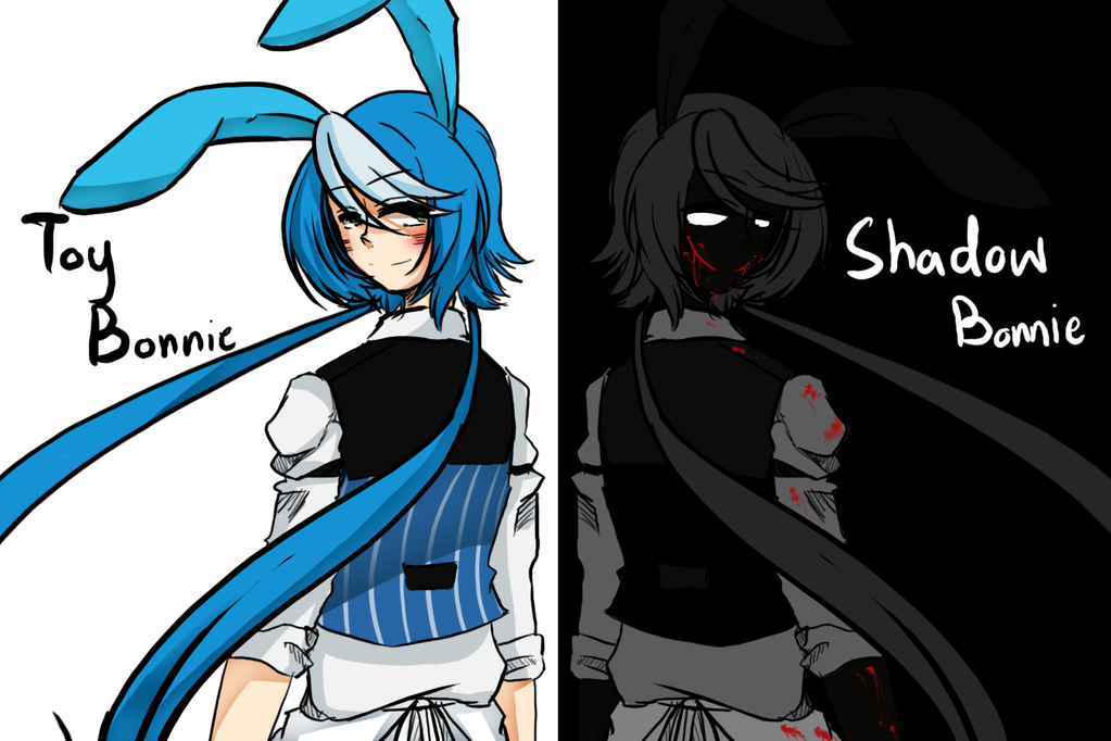 image toy bonnie and shadow bonnie png five nights at freddys