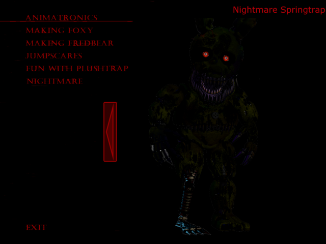 nightmare sparky the dog. file:nightmare springtrap extra.png nightmare sparky the dog