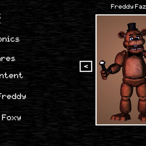 Freddy in Extras
