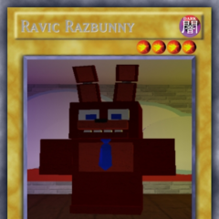 Ravic as a monster card.