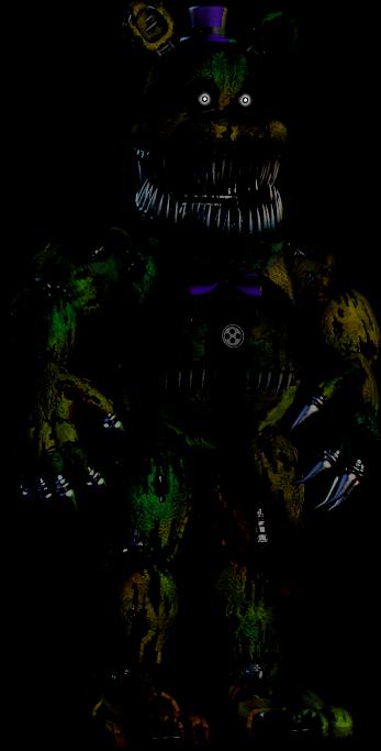 Nightmare Phantom Fredbear Five Nights At Freddys