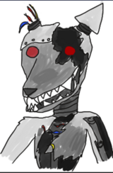 Scream, my made up Animatronic. (Special thanks to BoneTailAJ)