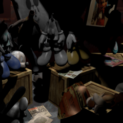 Abandoned Acephalous in the Suit Room