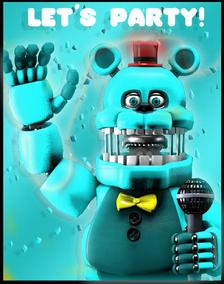 Leobearbear poster by