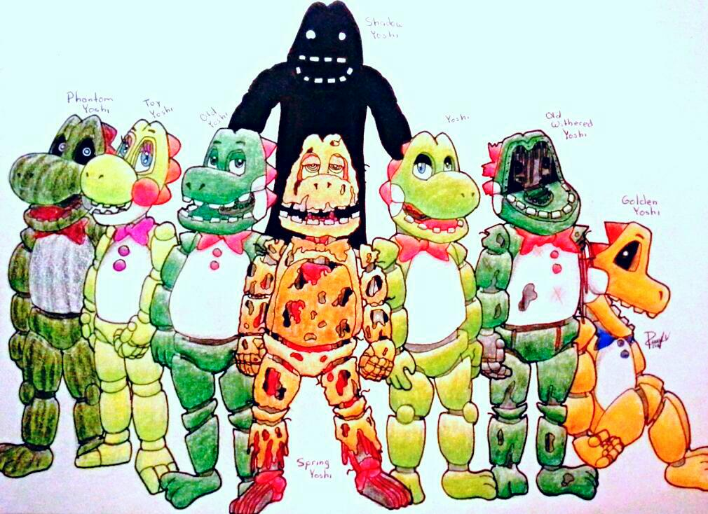 Yoshi Animatronics | Five Nights At Freddys Roleplay Wiki | FANDOM