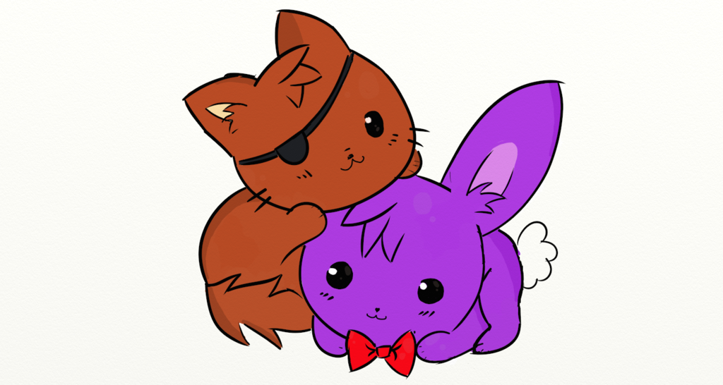 image cute foxy and bonnie by infera27 d8lou0f png five nights