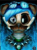 Pugsley the Pug Animatronic