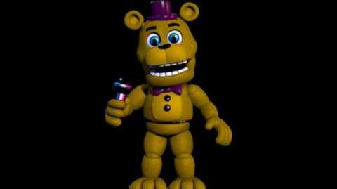 Fnaf World - Fredbears original voice - (Foxy Fighters)