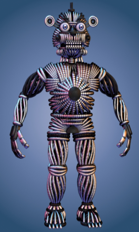 File:Funtime Freddy Endoskeleton no face.PNG
