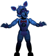 Funtime Foxy in the Dark