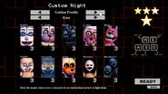 Golden Freddy's Custom Night (Easy Mode)