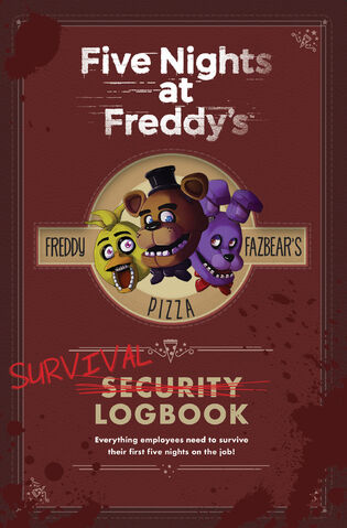 File:FNaF Survival Logbook Cover.jpg