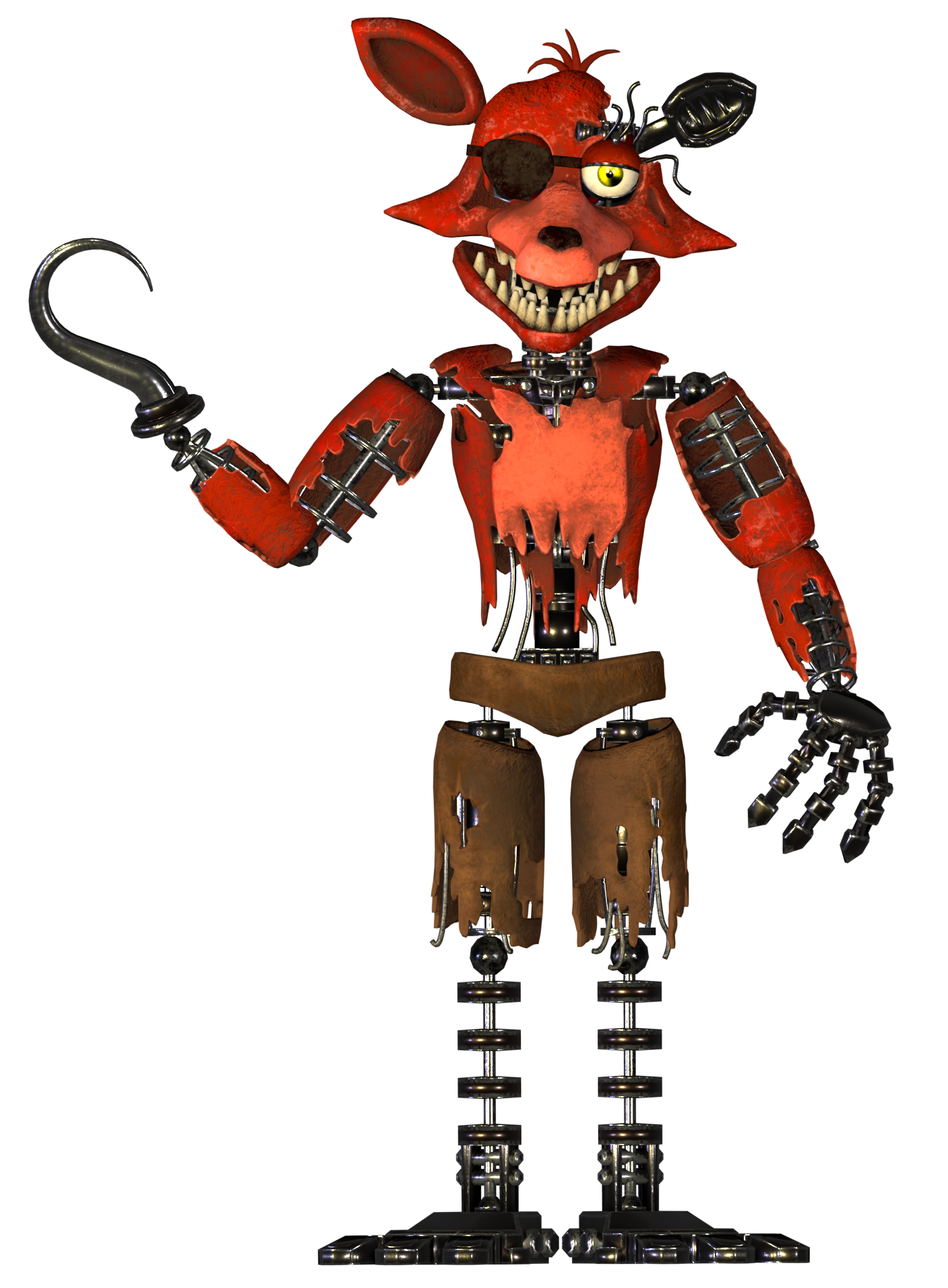 5 Nights At Foxys withered foxy   fnaf: the novel wiki   fandom